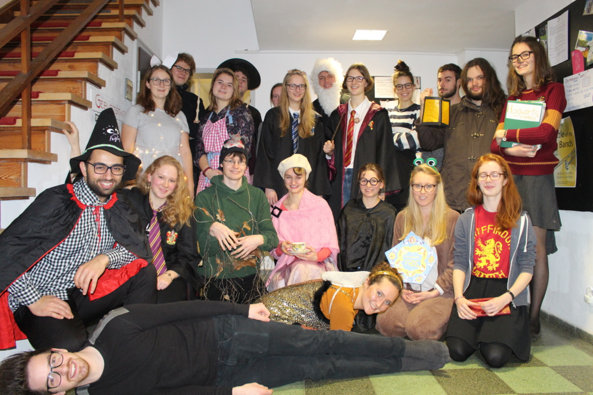 Harry Potter-Flurparty